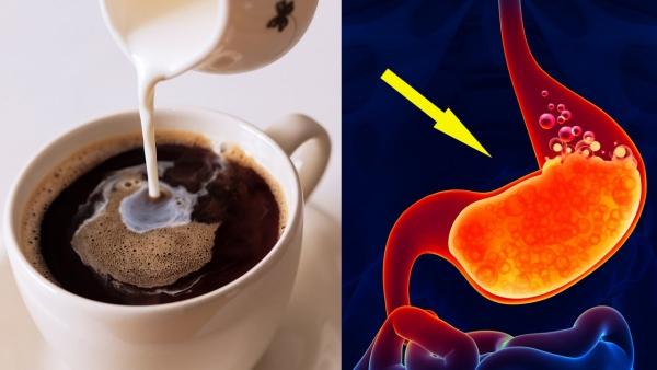 boire du café inflammation et irritation de la muqueuse