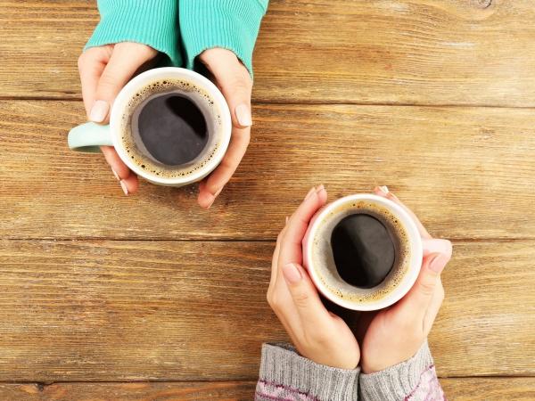 boire du café pour stimuler la journée