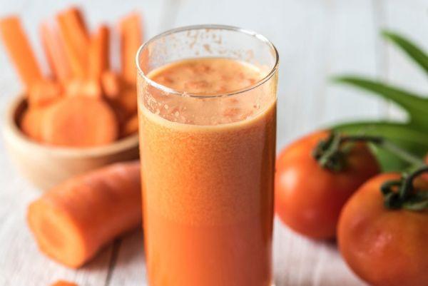 boisson healthy aux carottes pour bronzer sans soleil
