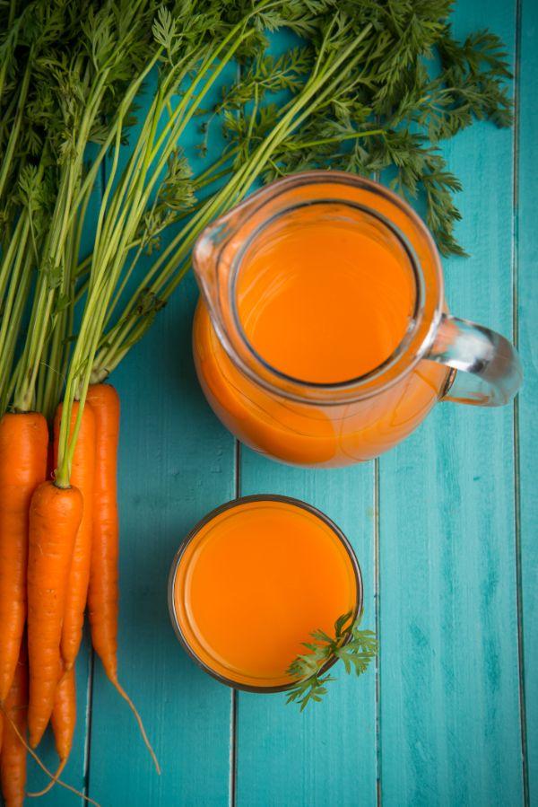bronzer sans soleil avec jus de carottes