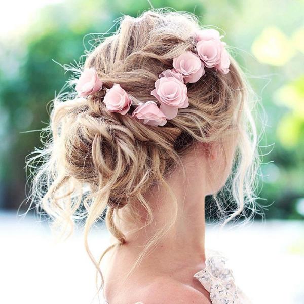 coiffure avec tresse bon pour un mariage