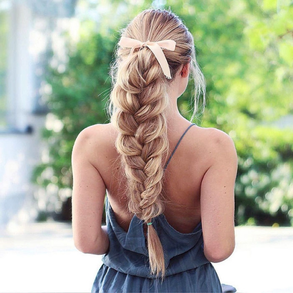 coiffure avec tresse ne pas serrer