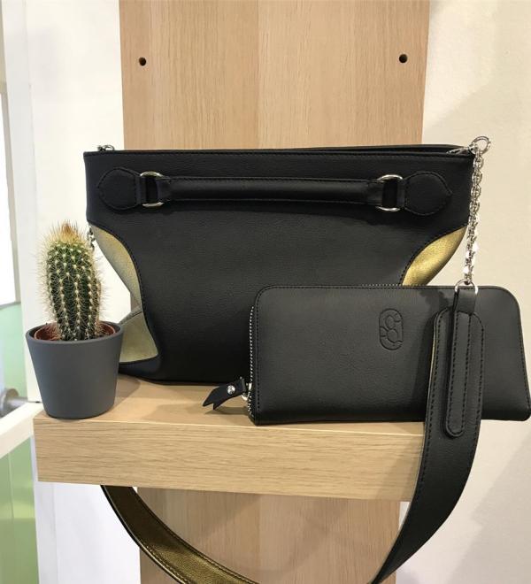 cuir artificiel de cactus accessoires en vogue