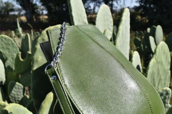 cuir artificiel de cactus sac à main élégant