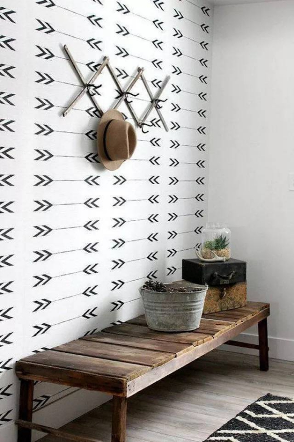 décoration d'entrée de maison en style minimaliste 10
