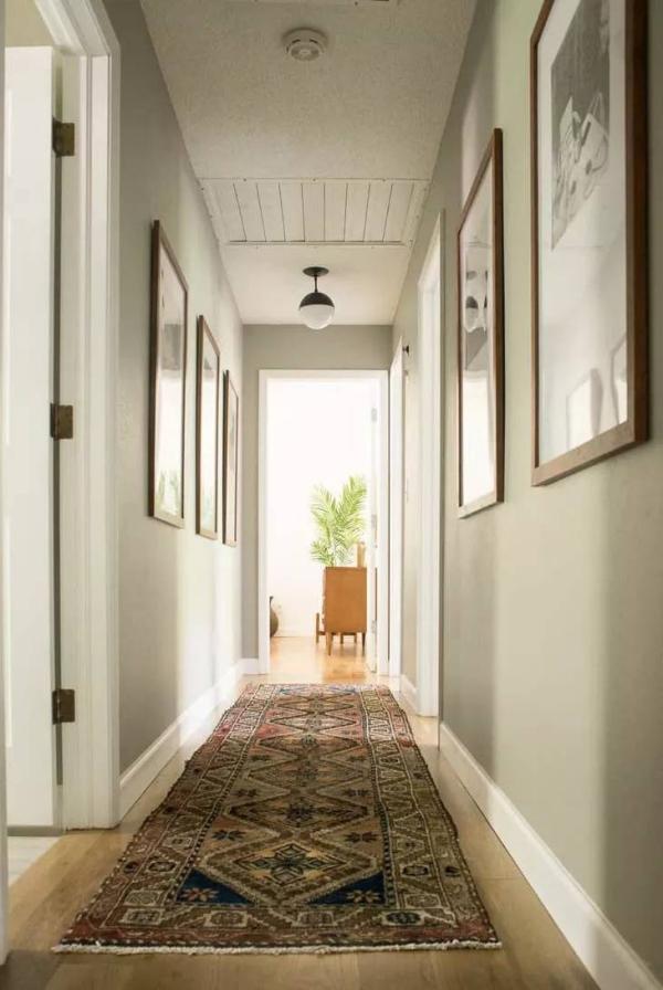 décoration d'entrée de maison espace étroit