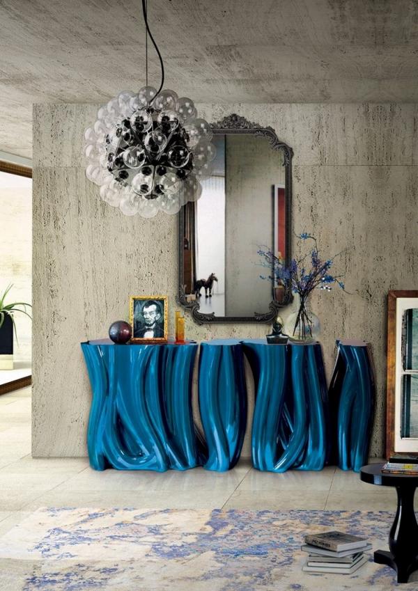 décoration d'entrée de maison joli cadre de miroir