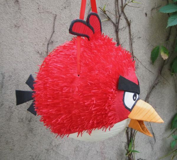 fabriquer une piñata angry bird