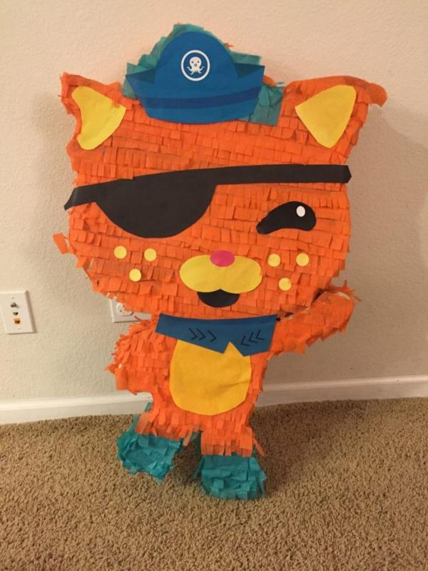 fabriquer une piñata chatton