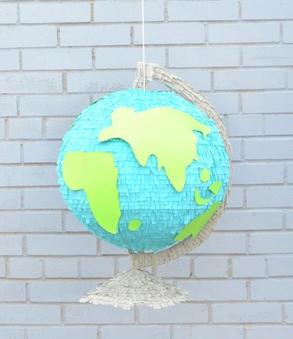 fabriquer une piñata globe
