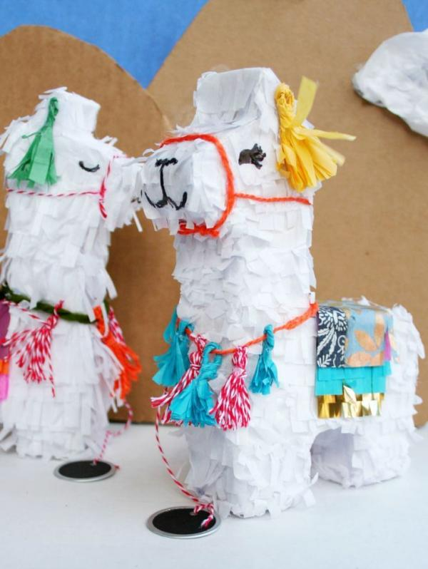 fabriquer une piñata lama
