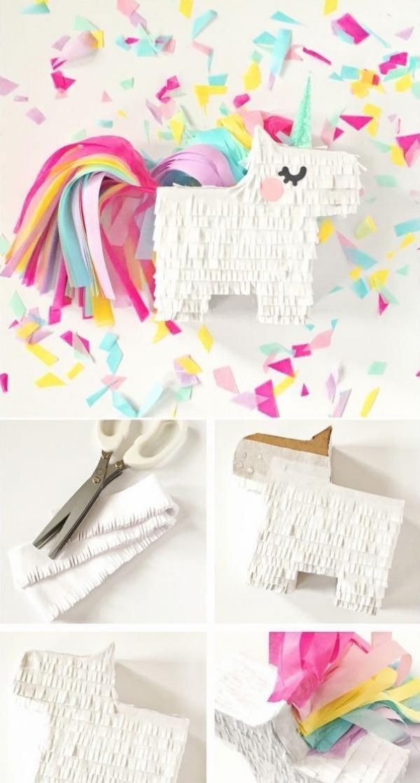 fabriquer une piñata licorne