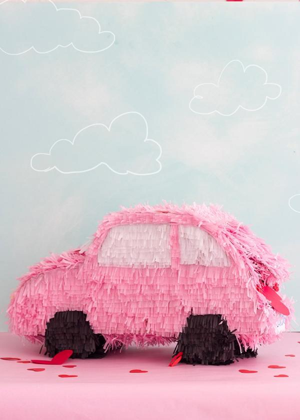 fabriquer une piñata voiture