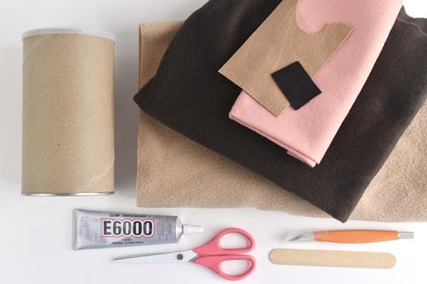 fabriquer une tirelire cochon d'inde matériaux