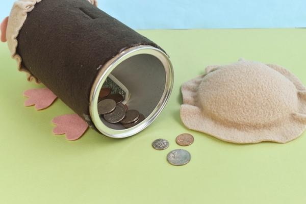 fabriquer une tirelire cochon d'inde pour enfant