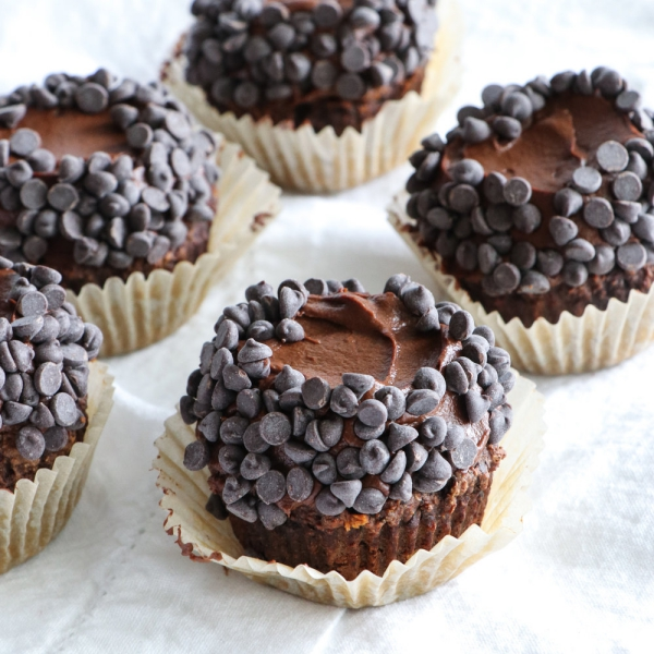 gâteau sans gluten chocolat de petits cakes