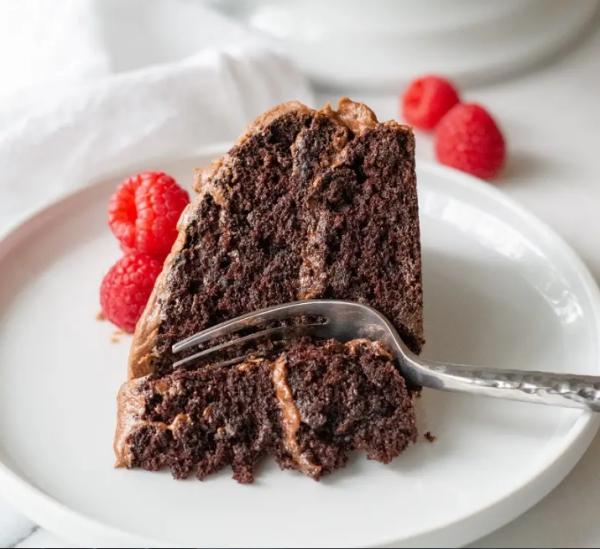 gâteau sans gluten chocolat une fois fondu, laissez refroidir
