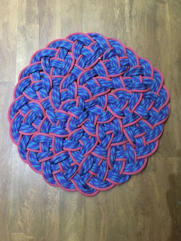 idée tapis en corde diy pour le salon