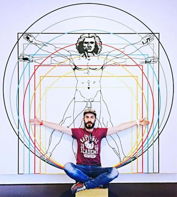 image Photoshop à la Léonardo da Vinci
