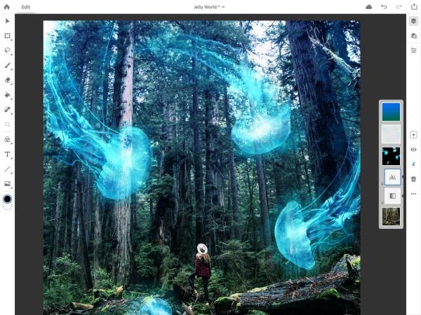 image Photoshop imagination et esthétique