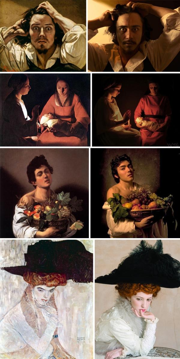 image Photoshop tableaux des classiques