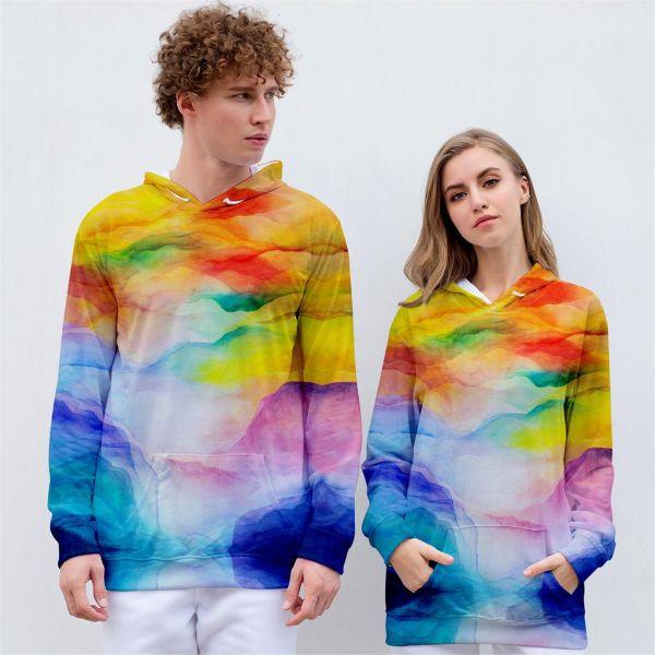 imprimé unisexe mode 2020 tie and dye maison