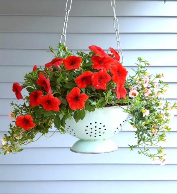 jardinière suspendue bricolage créer une ambiance fraîche