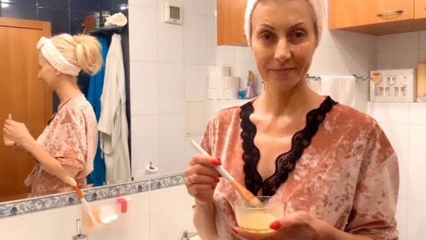 masque au jaune d'oeuf pour le visage nourrir la peau