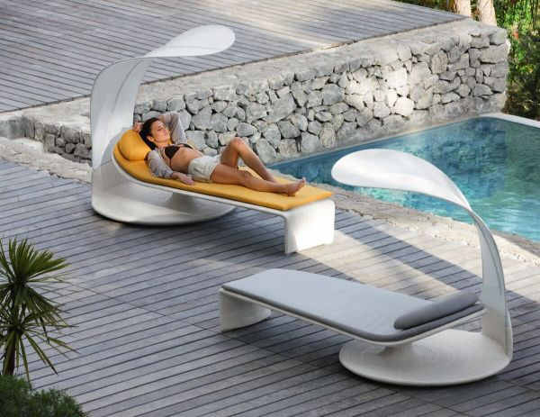 mobilier outdoor transat jardin look design