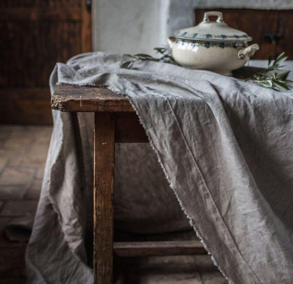 nappe de table en lin linge de lit en lin lavé pourquoi adopter