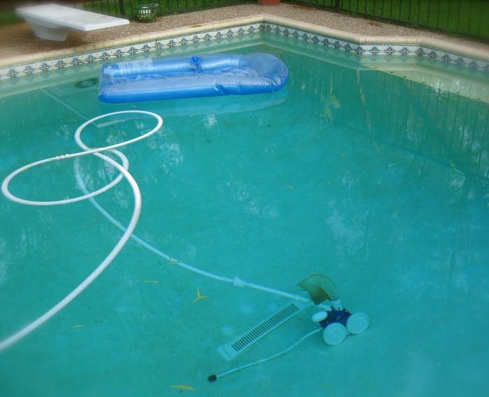 nettoyage fond de piscine effectuer la filtration