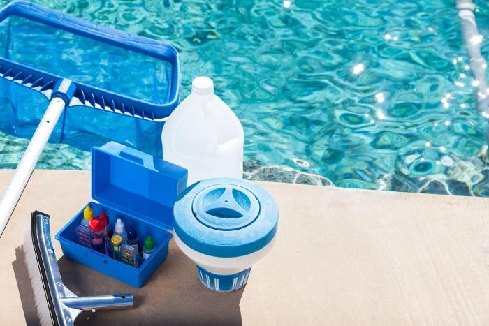 nettoyage fond de piscine mesurer le pH