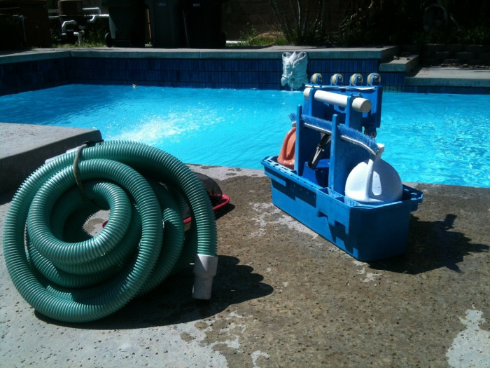 nettoyage fond de piscine système de filtrage