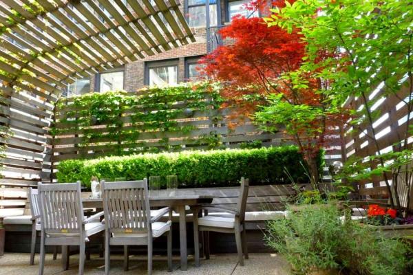 patio couvert entourer et couvrir