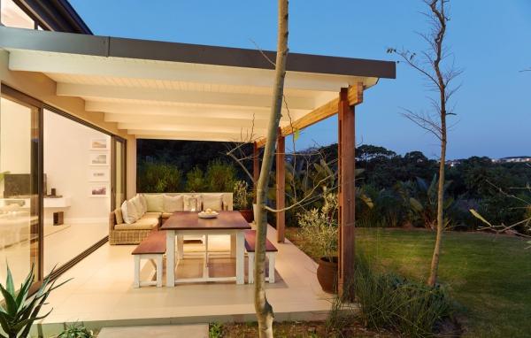 patio couvert matériau composite en polystyrène