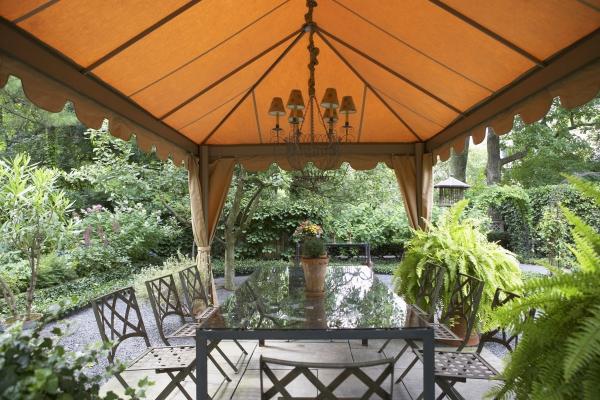 patio couvert une source d'ombre