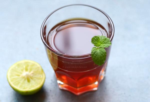 recette thé à la menthe 5 à 10 minutes d'infusion