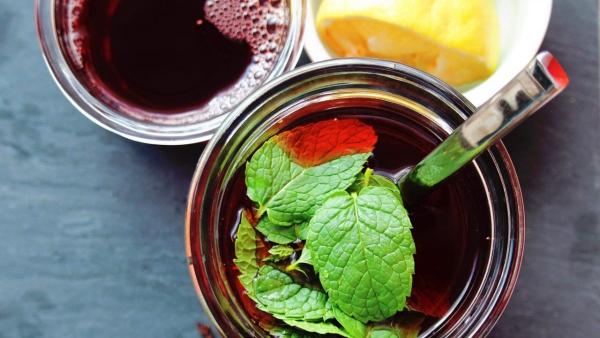 recette thé à la menthe avec du citron