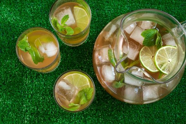 recette thé à la menthe boire froid