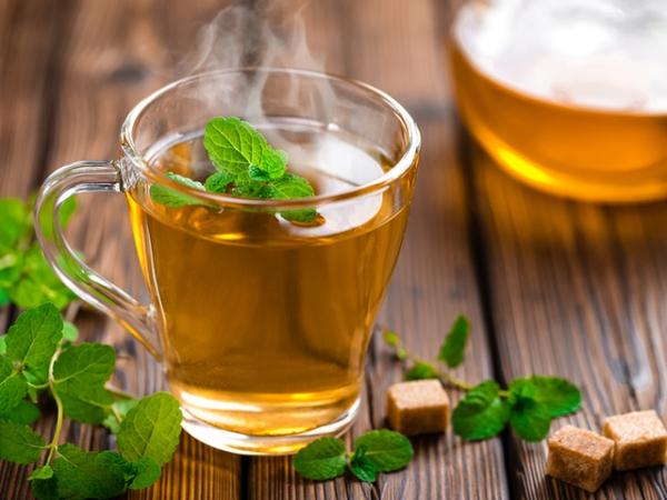 recette thé à la menthe du sucre brun