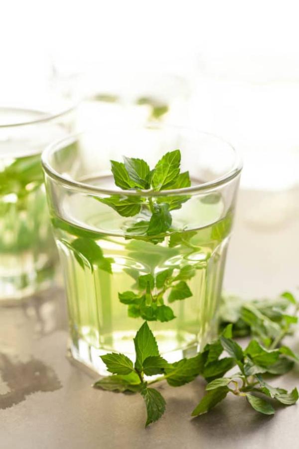 recette thé à la menthe recette rafraîchissante