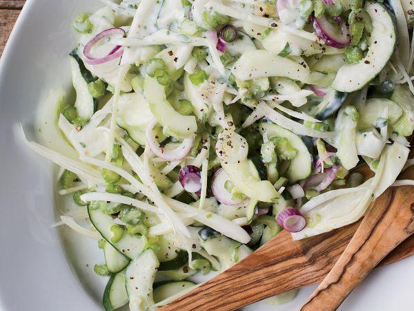salade recette facile bienfaits du fenouil