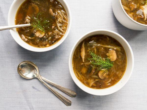 soupe aux champignons et fenouil bienfaits du fenouil