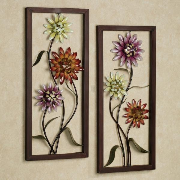 tableau vivant motifs floraux