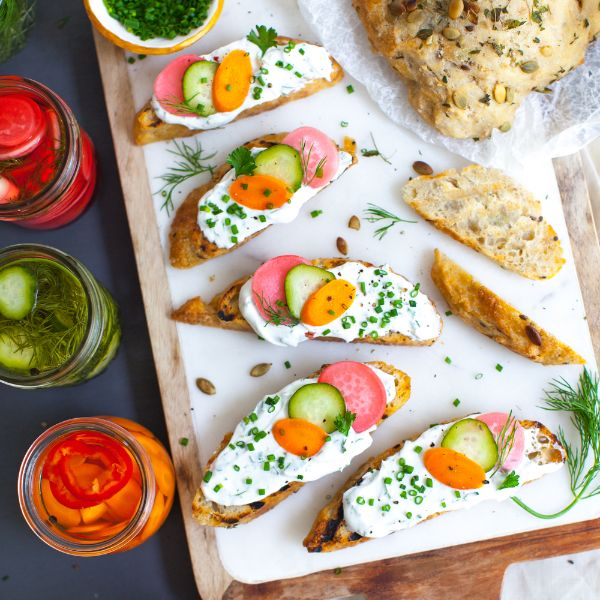 toast et skyr yaourt islandais combinaison parfaite