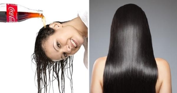 traitement des cheveux avec du coca-cola
