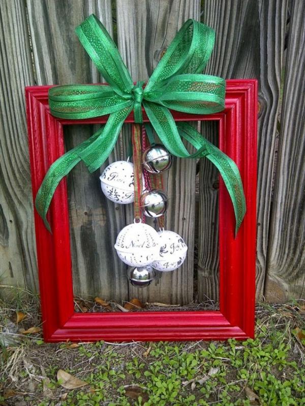 vieux cadre décoration de Noël