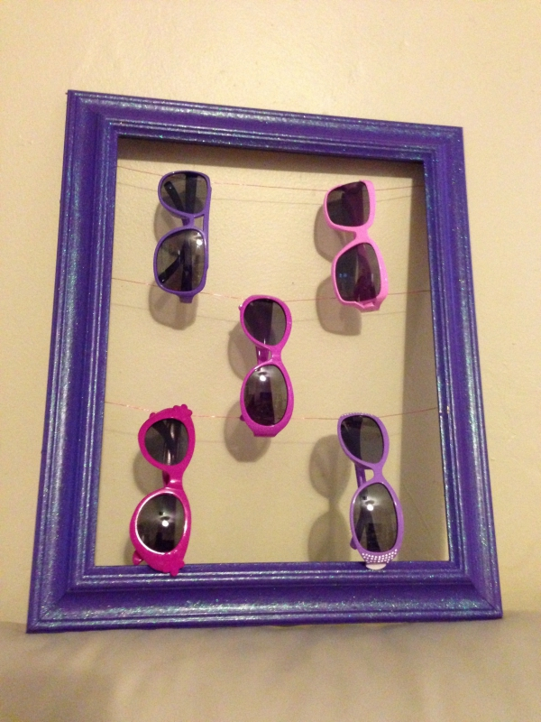 vieux cadre pour les lunettes