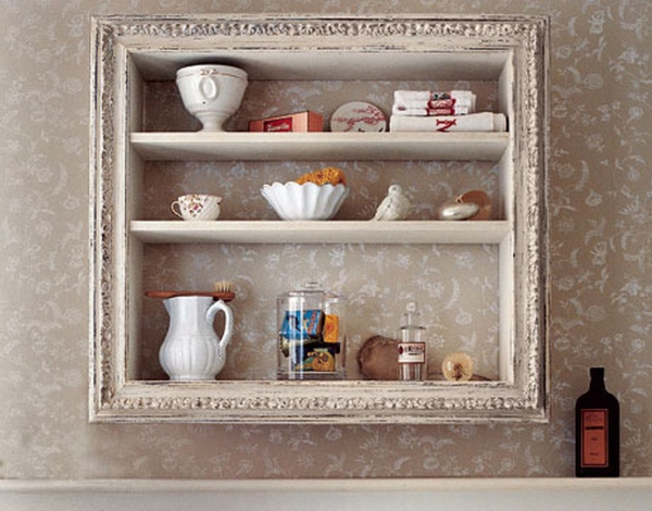 vieux cadre toujours shabby
