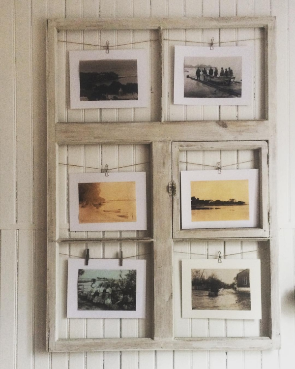 vieux cadre une vieille fenêtre